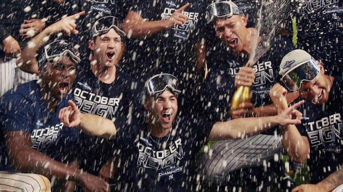 The Yankees secure a spot in the postseason
