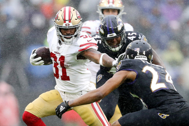 Raheem Mostert bullied the Ravens for almost 150 yards against a top five rushing unit.