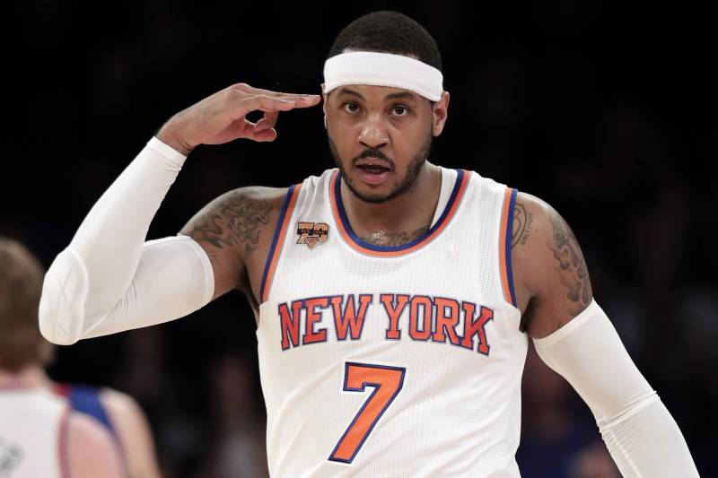 Carmelo brought the Knicks and the Garden back to life.