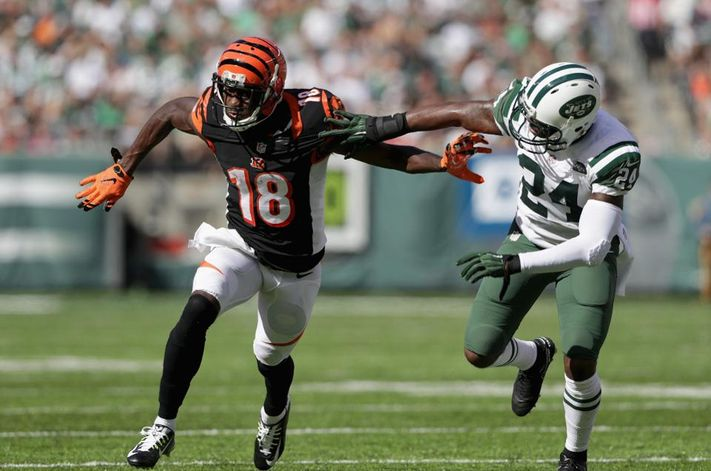 Darrelle Revis was as lockdown as a CB could be.