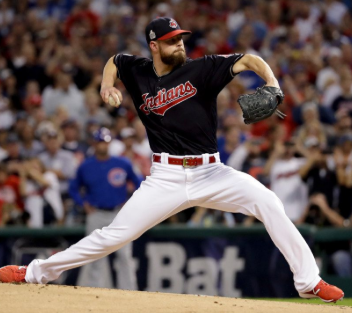 Kluber traded to TEX