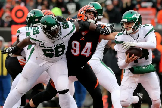 Jets lost to the Bengals