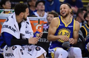 Steph Curry and Klay Thompson are seen as the top two shooters of all time.