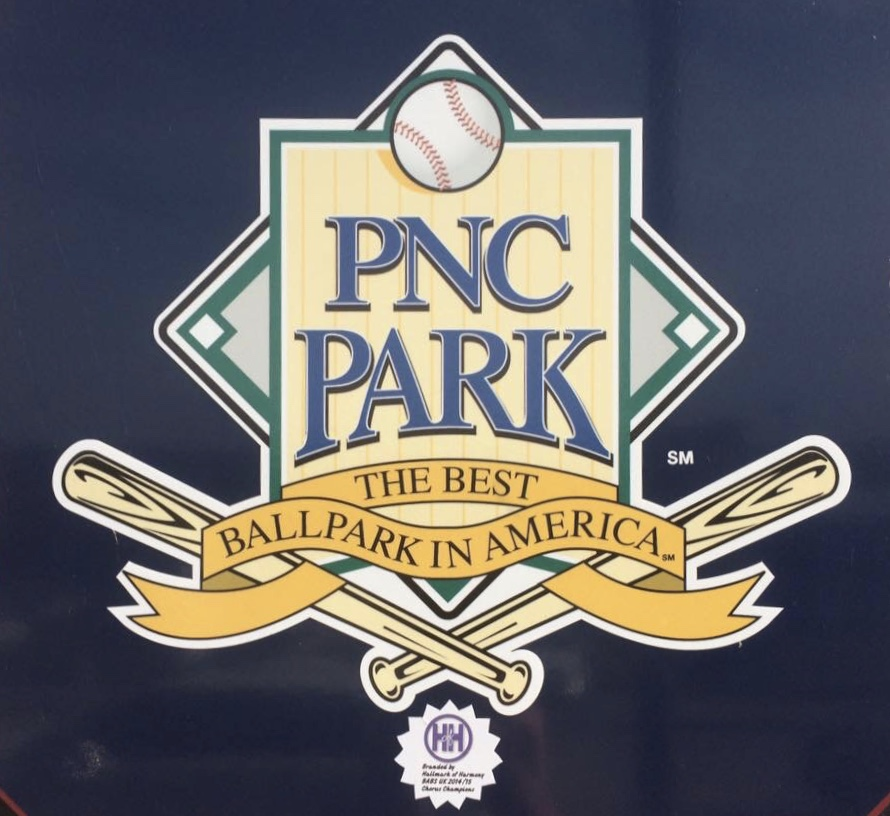 A picture of the classic PNC Park logo.