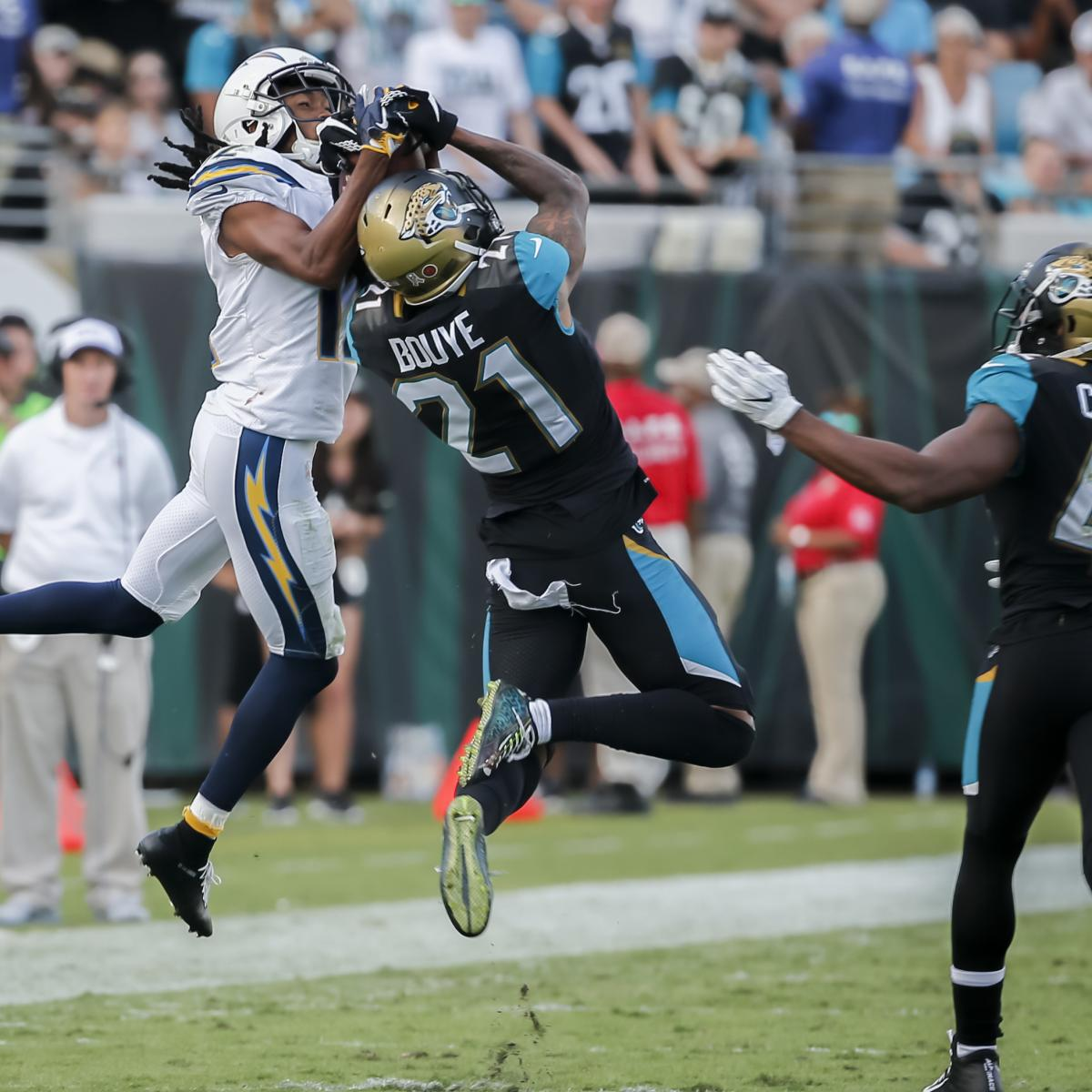 A.J. Bouye traded to the Denver Broncos on Tuesday.