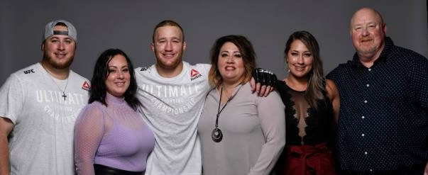 The Gaethje family