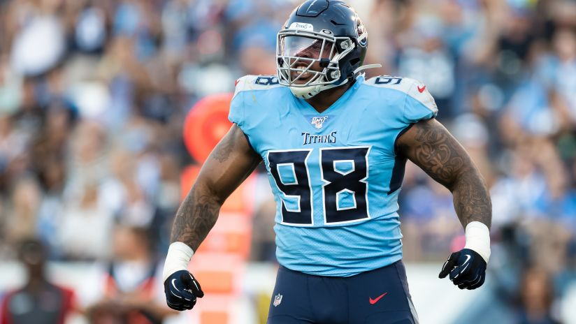 Jeffrey Simmons is an NFL breakout candidate in 2020, Photo: Donald Page/Tennesse Titans