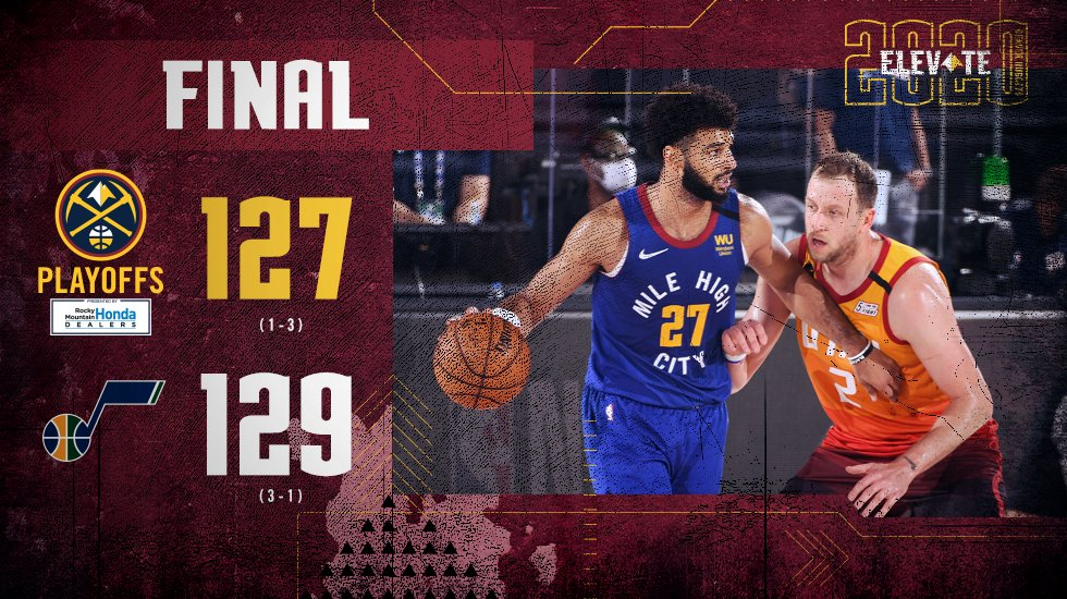Murray's big performance not enough to hold off Jazz.