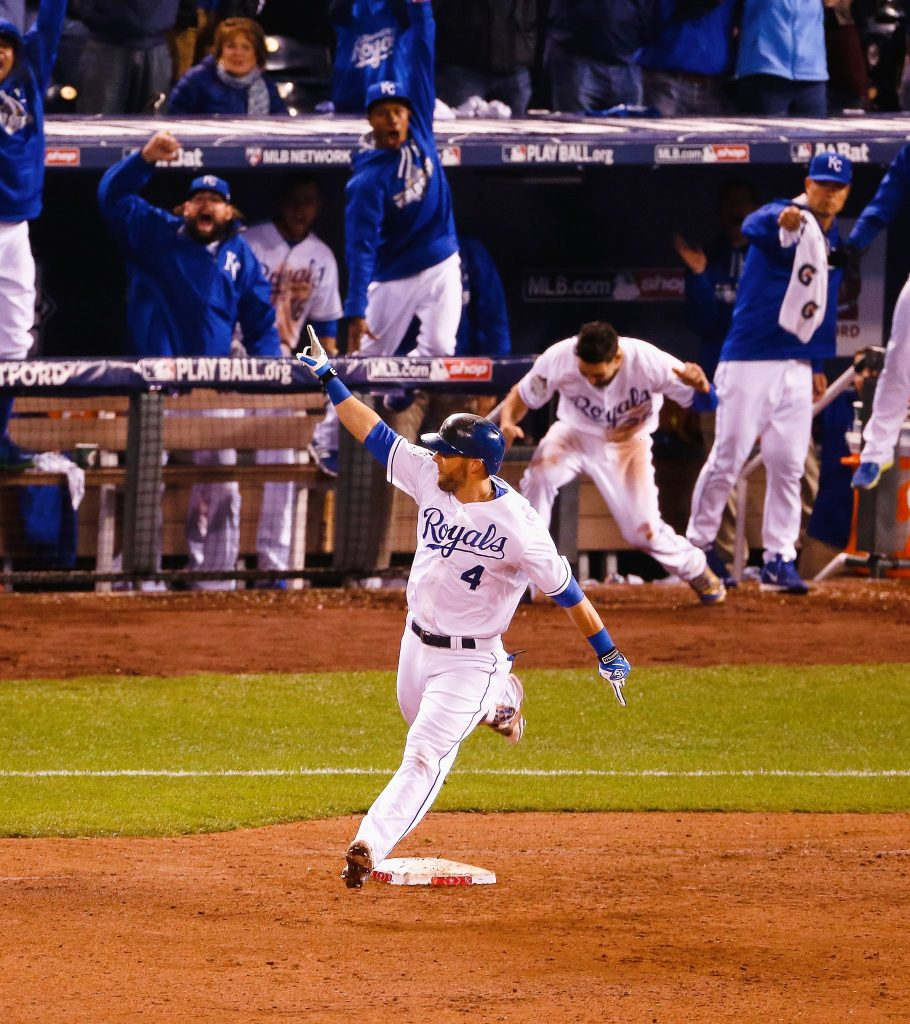 Alex Gordon home run.