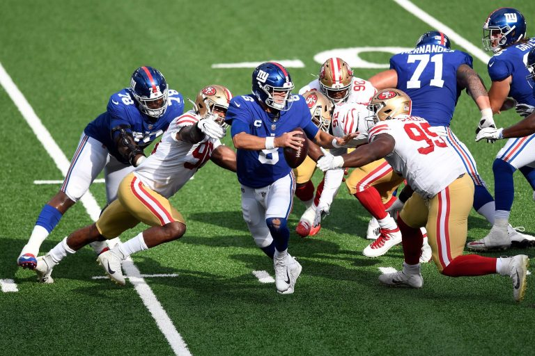 Giants Fall to 0-3 as They're Clobbered by 49ers 36-9
