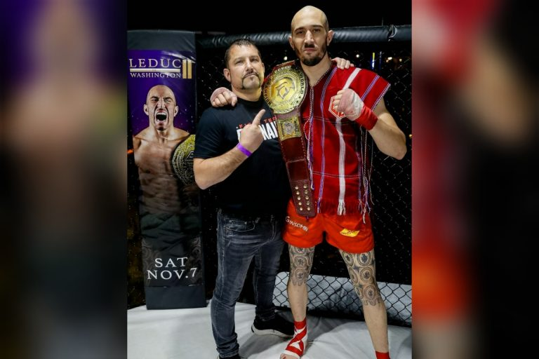 Dave Leduc Cements His Legacy as King of Lethwei!